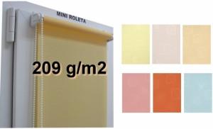 Okenní roleta do oken řetízkové - Lazur plus látkové rolety Mini