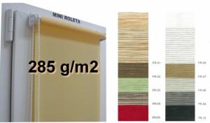 Roleta Mini / okenní / do oken řetízkové - Prestige látkové rolety
